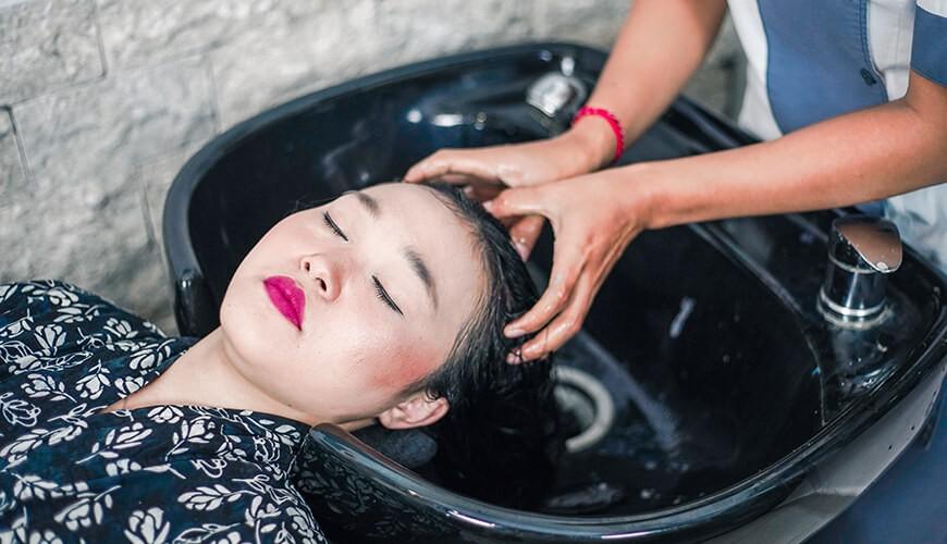 Jaens Spa Ubud - Hair Wash 1