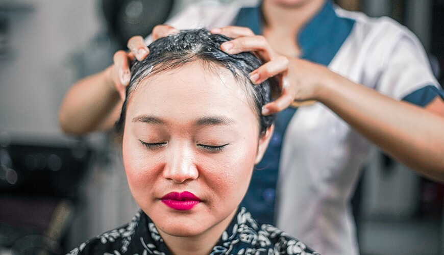 Jaens Spa Ubud - Hair Wash 2