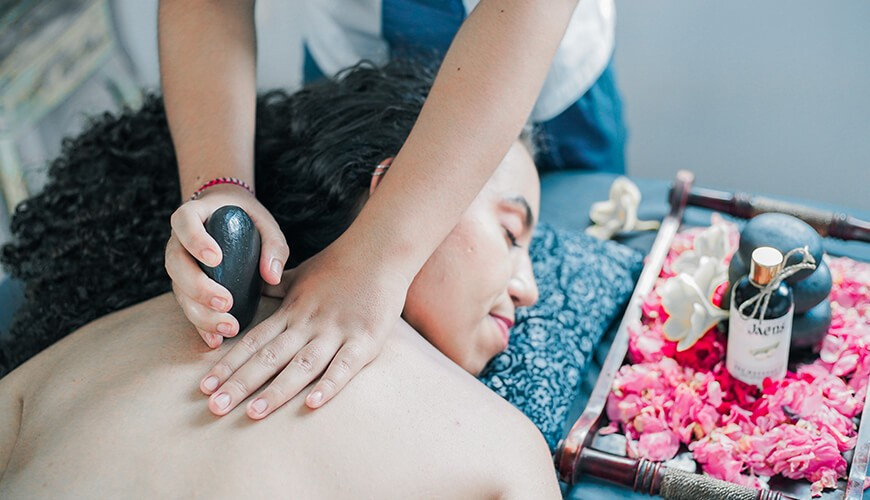 Jaens Spa Ubud - Hot Stone Massage 2