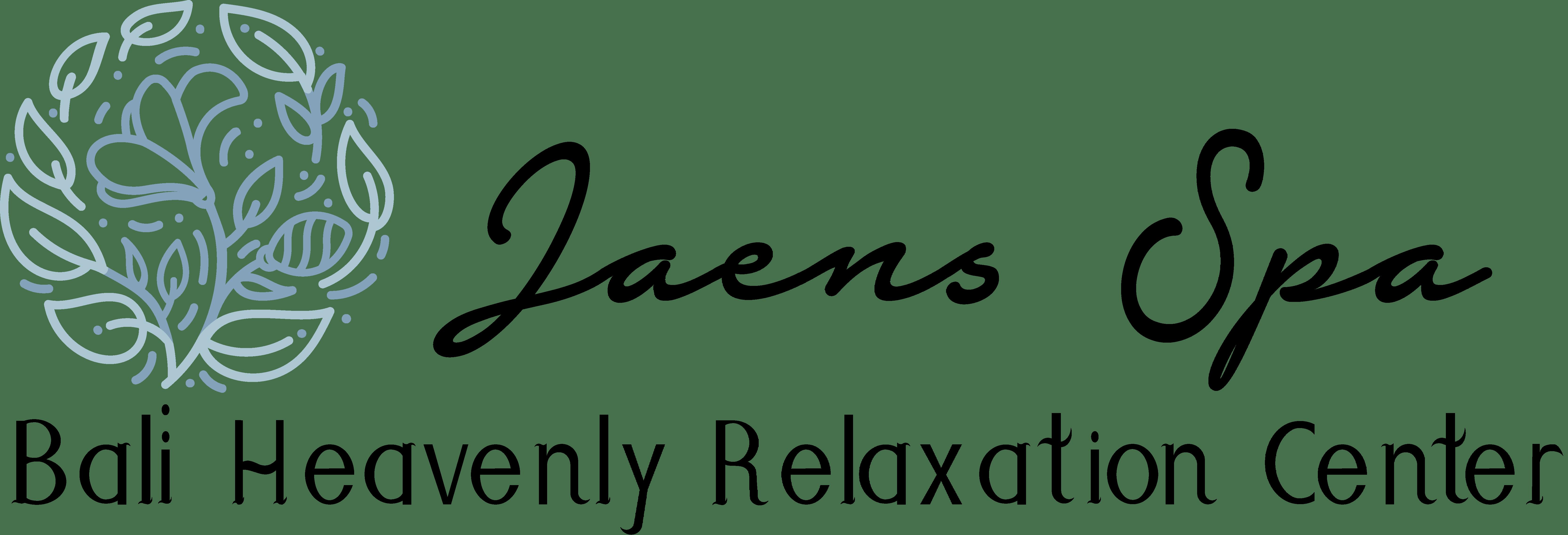 Jaens Spa Full Logo - Black Text